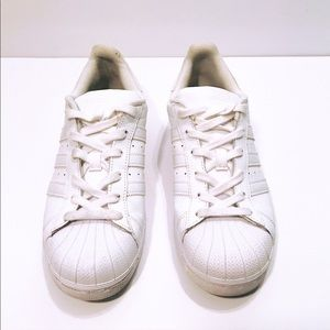 Adidas White Superstar Sneakers